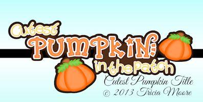 Cutest Pumpkin Title