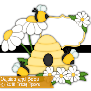 Daisies and Bees