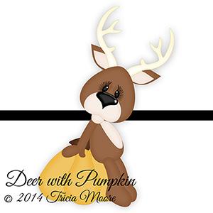 Deer with Pumpkin