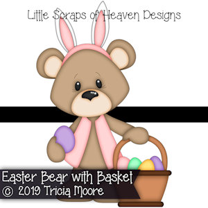 Easter Bear with Basket