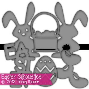 Easter Silhouettes