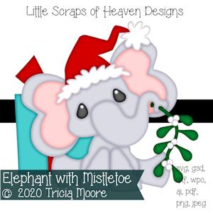 Elephant with Mistletoe