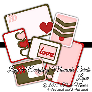 Everyday Moments Love Cards