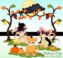 Field Mouse Halloween Party