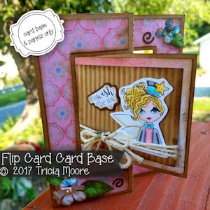 Flip Card Card Base