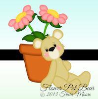 Flower Pot Bear
