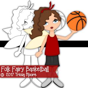 Folk Fairy Basketball