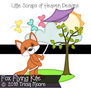 Fox Flying Kite