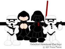 Galactical Adventures Bad Guys