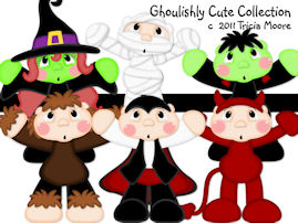 Ghoulishly Cute Collection