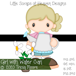 Girl with Water Can