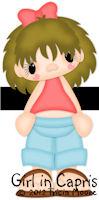 Girl in Capris