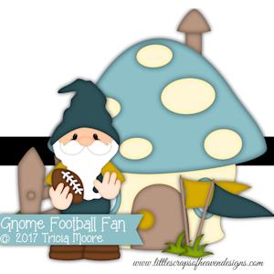 Gnome Football Fan