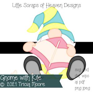Gnome with Kite
