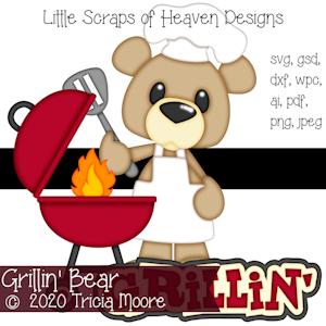 Grillin' Bear