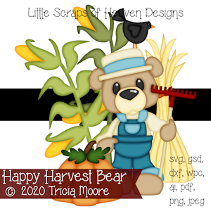 Happy Harvest Bear