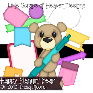 Happy Plannin' Bear