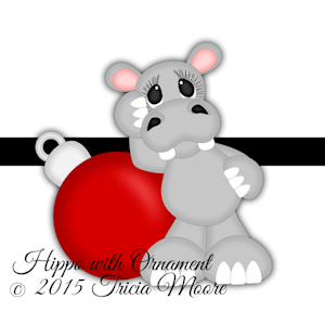 Hippo with Ornament