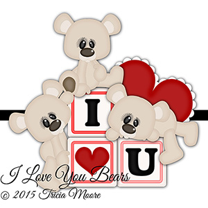 I Love You Bears