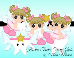 It's the Tooth Fairy Girls