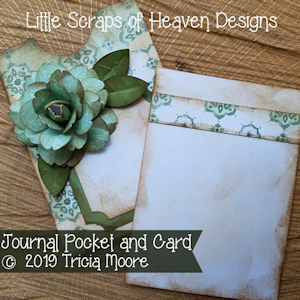 Journal Pocket and Card