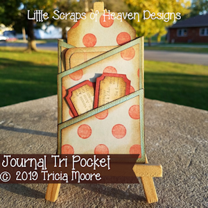 Journal Tri Pocket
