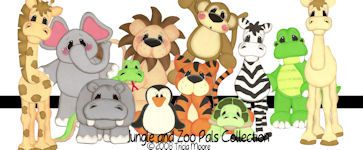 Jungle and Zoo Pals Pattern Collection