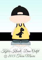 KK Dino Clothes