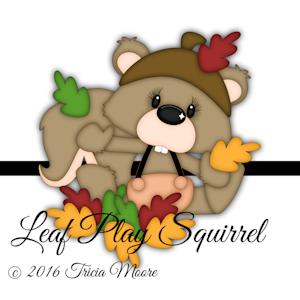 Leaf Play Squirrel