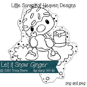 Let it Snow Ginger ds