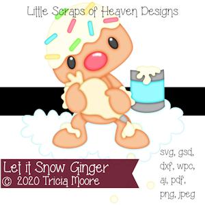 Let it Snow Ginger