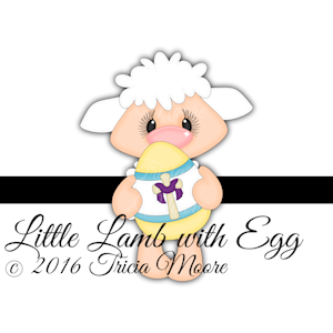 Little Lamb with Egg