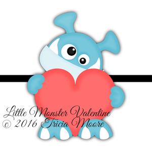 Little Monster Valentine