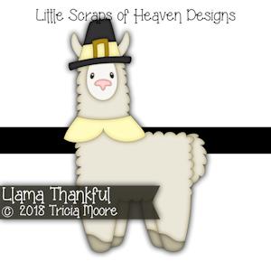 Llama Thankful