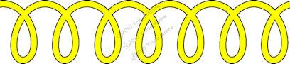 Loopy Border Pattern