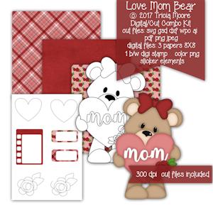 Love Mom Bear