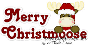 Merry Christmoose Title