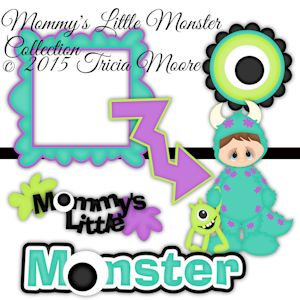 Mommy's Little Monster Collection