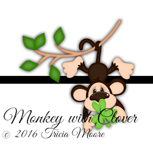Monkey with Clover