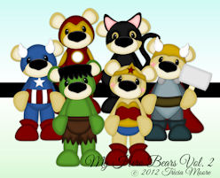 My Hero Bears Vol. 2