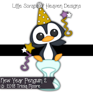 New Year Penguin 2