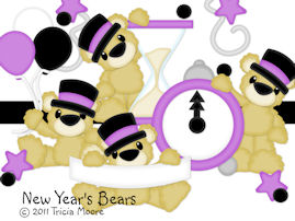 New Year's Bears