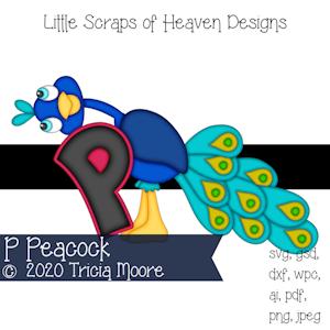 P Peacock