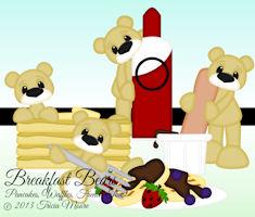 Breakfast Bears Pancake Waffles FT