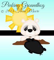 Peeking Groundhog
