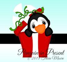 Penguin in Present