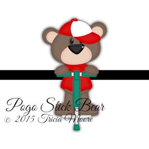 Pogo Stick Bear