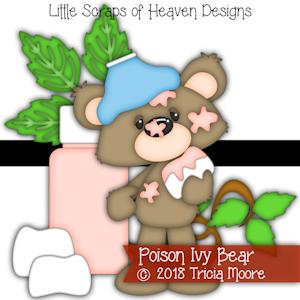 Poison Ivy Bear