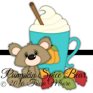 Pumpkin Spice Bear