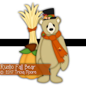 Rustic Fall Bear